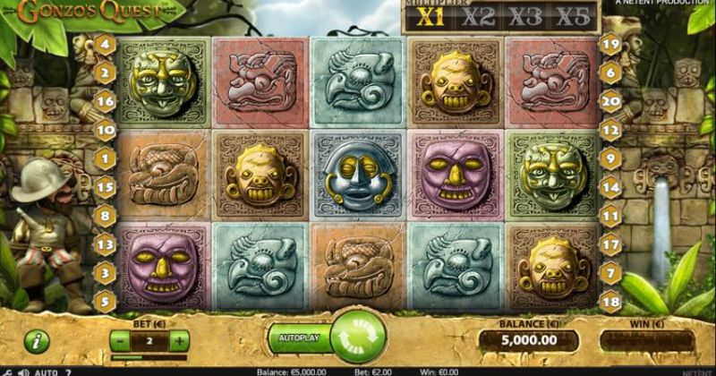 Play in Gonzo's Quest NetEntiltä for free now   Netti Casino