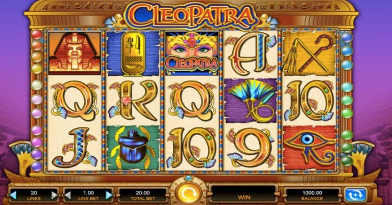 Play in Cleopatra-kolikkopeli IGT:ltä for free now   Netti Casino
