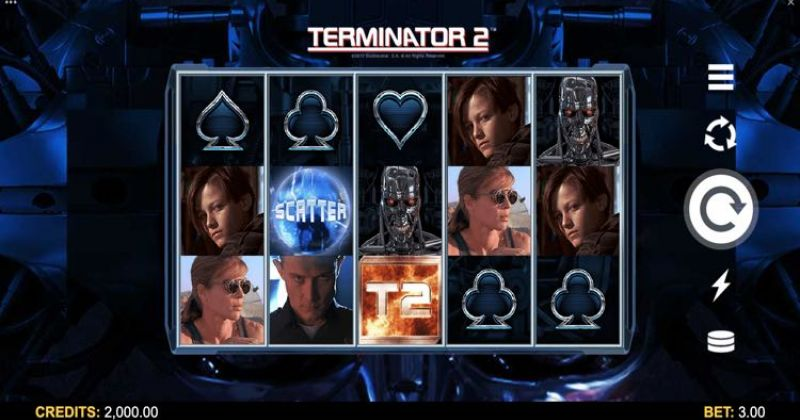 Play in Terminator 2 -kolikkopeli Microgamingilta for free now | Netti Casino